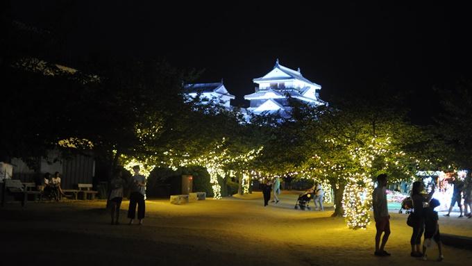 光のおもてなしin松山城 2017