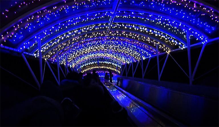 光のトンネル(マジックストロー)